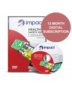Health & Safety Signs Library - 12 month subscription