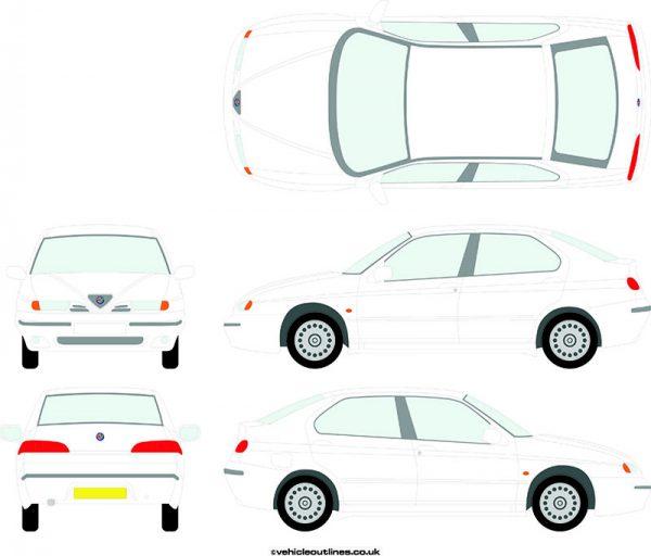 Cars Alfa Romeo 146 1995-2001