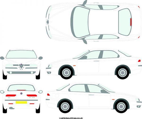 Cars Alfa Romeo 156 1997-2006
