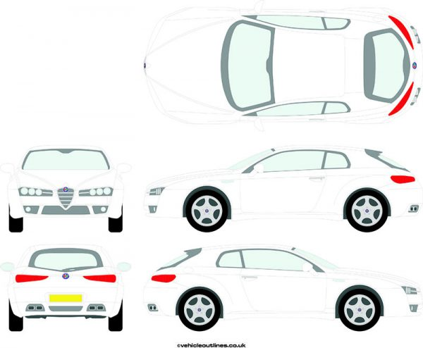 Cars Alfa Romeo Brera 2006-10