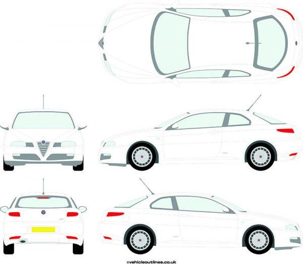 Cars Alfa Romeo GT 2004-10