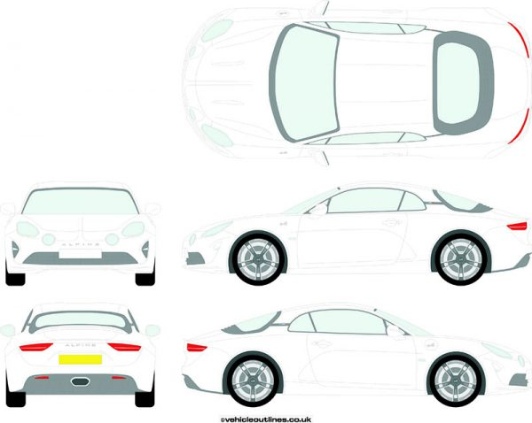 Cars Alpine A110 2018-19