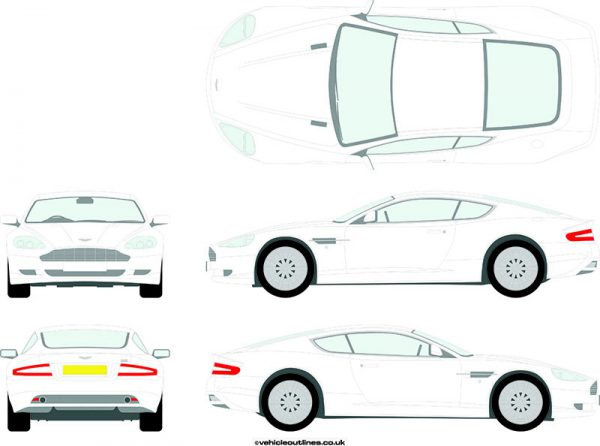 Cars Aston Martin DB9 2004-2016