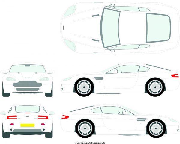 Cars Aston Martin V8 2005-17