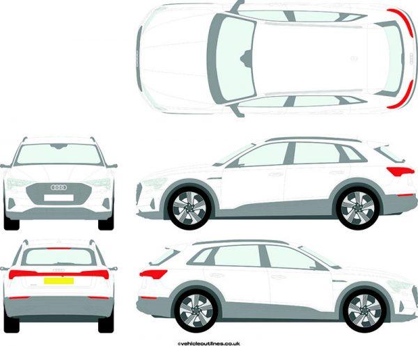 4x4 Audi E-Tron 2019-21