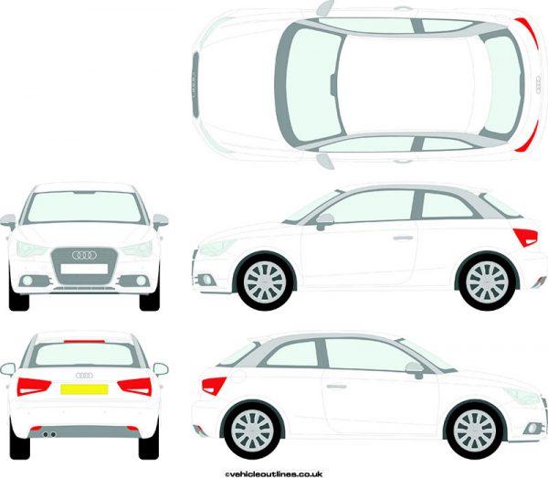Cars Audi A1 2010-15