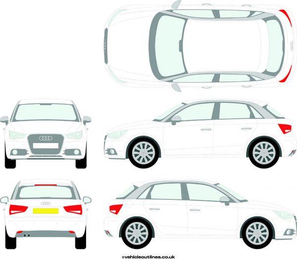 Cars Audi A1 2012-15