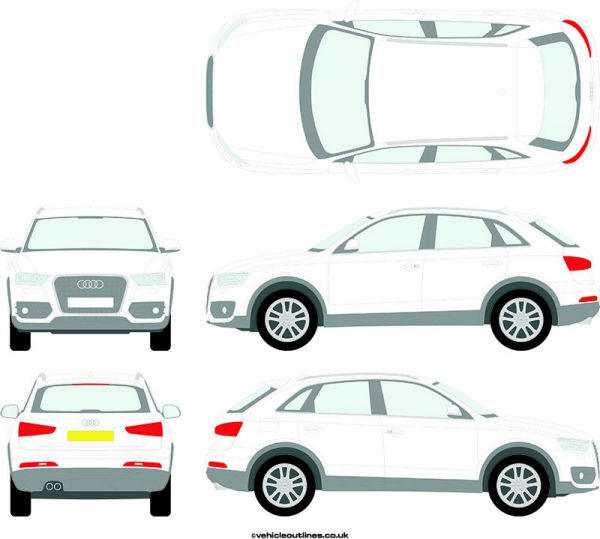4x4 Audi Q3 2011-14