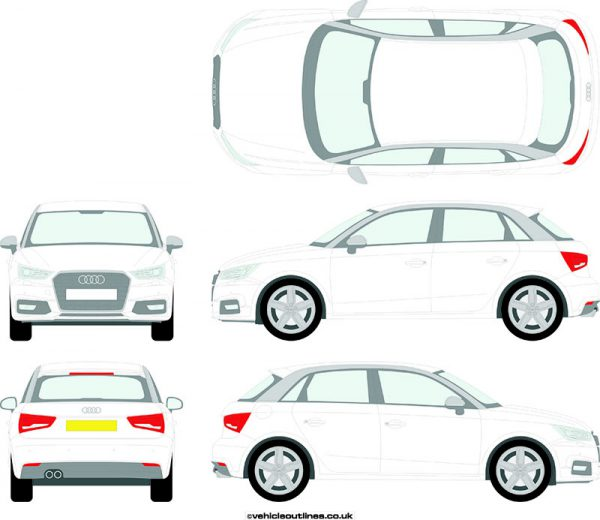 Cars Audi A1 2015-18