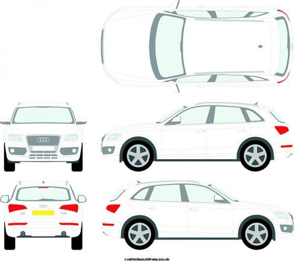 4x4 Audi Q5 2008-12