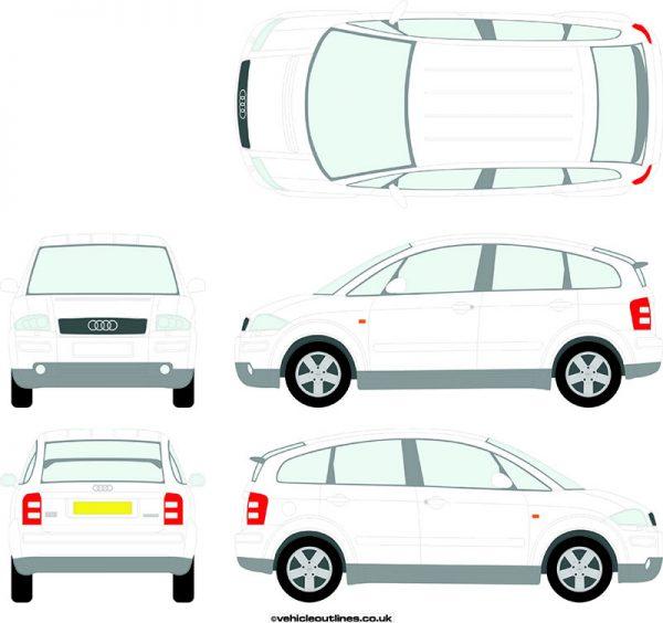Cars Audi A2 2000-06