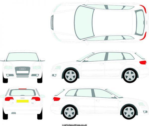 Cars Audi A3 2004-09