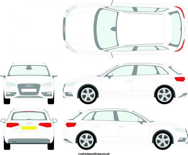 Cars Audi A3 2012-16