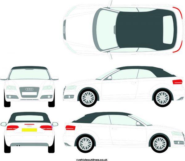 Cars Audi A3 2008-13