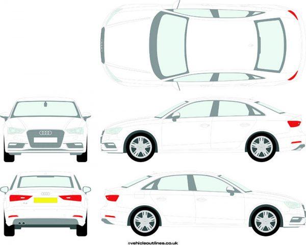 Cars Audi A3 2013-16
