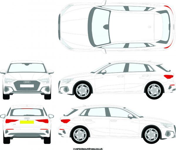 Cars Audi A3 2020-21