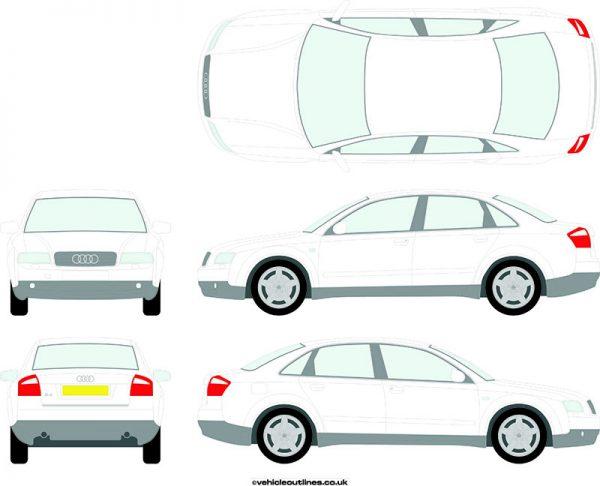 Cars Audi A4 2001-04