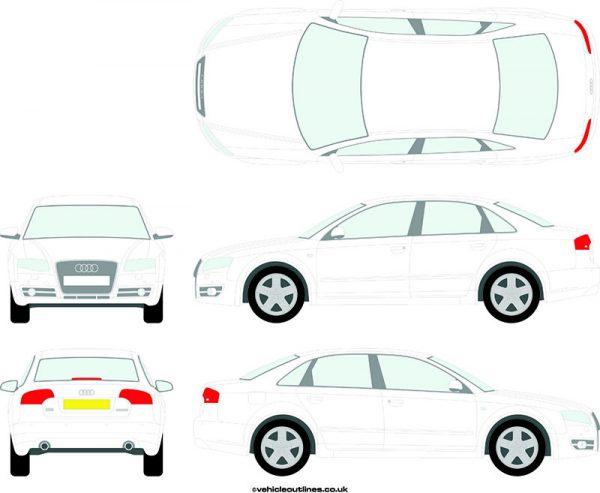 Cars Audi A4 2004-07