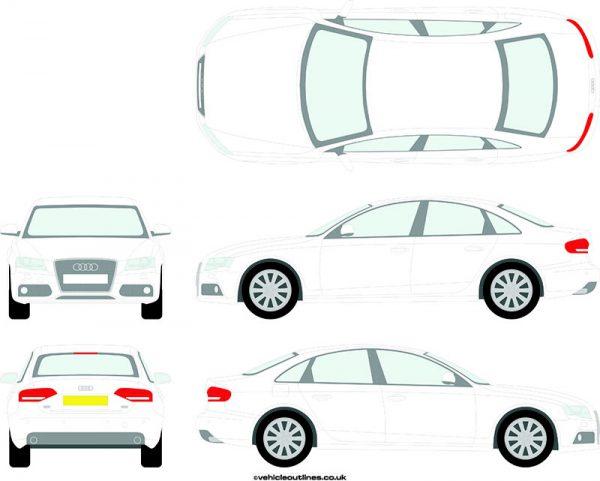 Cars Audi A4 2007-11