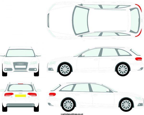 Cars Audi A4 2008-11