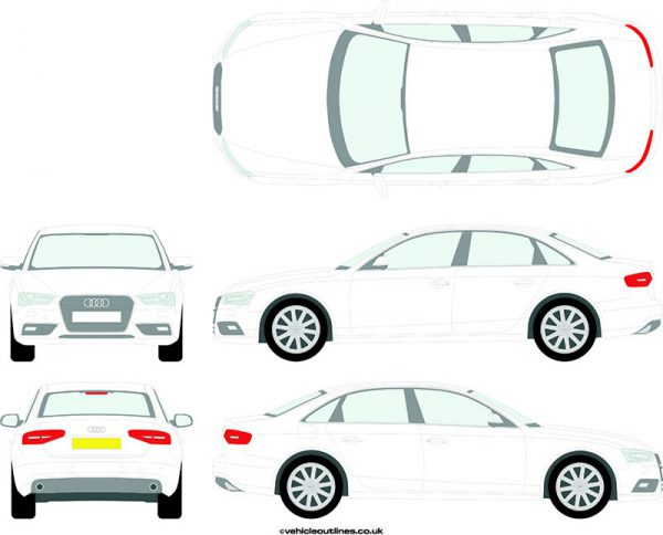 Cars Audi A4 2012-15