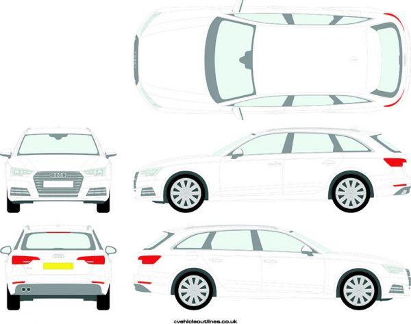 Cars Audi A4 2015-21