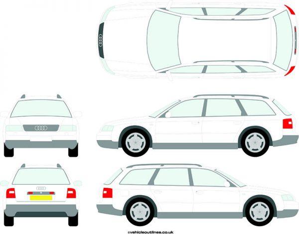 Cars Audi A6 1997-2005