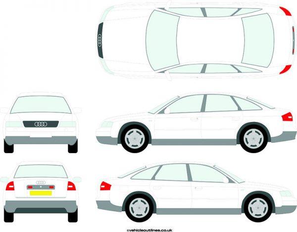 Cars Audi A6 1997-2004