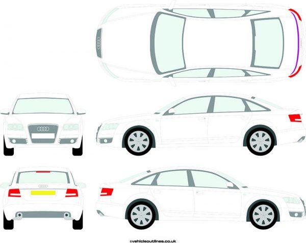 Cars Audi A6 2004-11