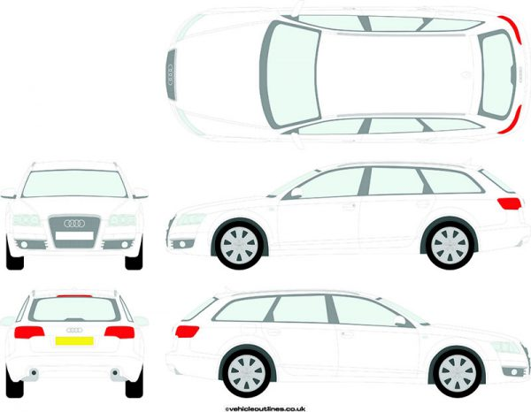 Cars Audi A6 2005-11