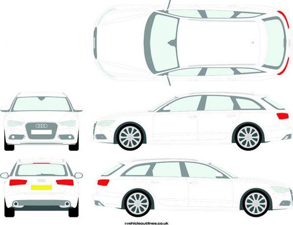 Cars Audi A6 2012-19