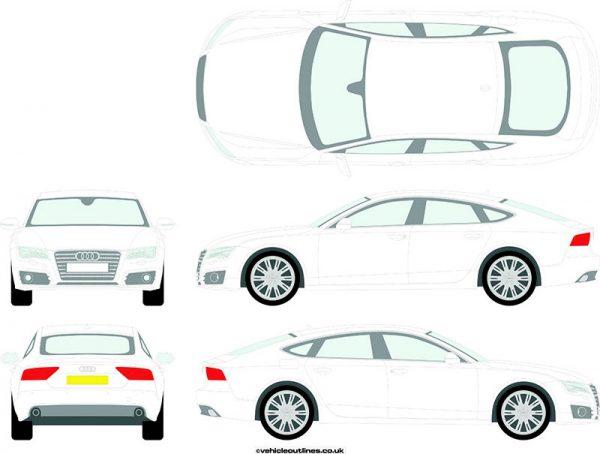 Cars Audi A6 2013-19
