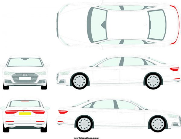Cars Audi A8 2017-21