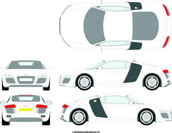 Cars Audi R8 2007-15