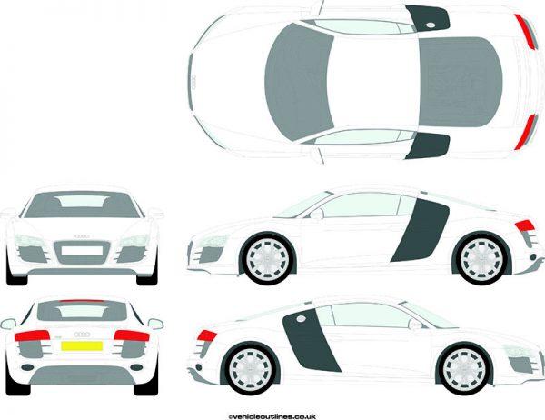 Cars Audi R8 2009-15