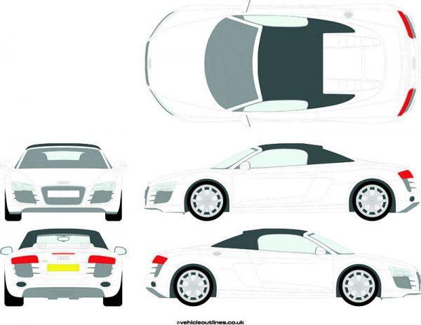 Cars Audi R8 2011-15