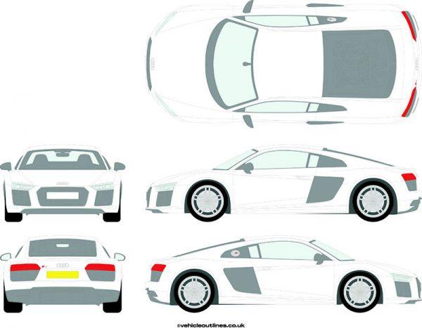 Cars Audi R8 2015-21
