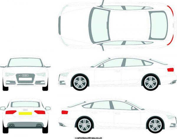 Cars Audi S5 2011-17