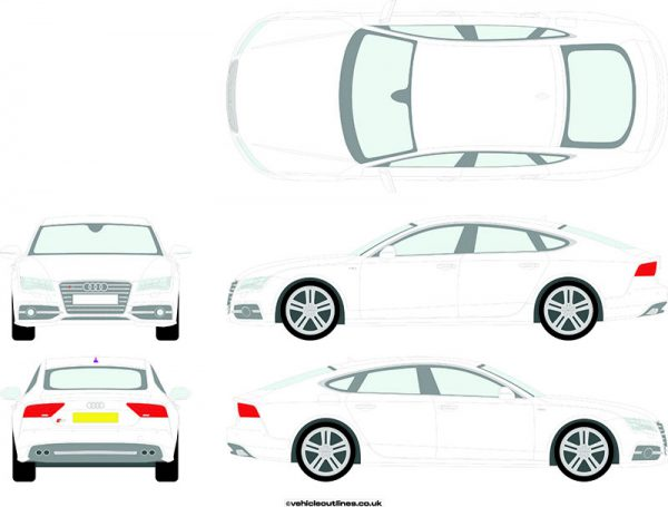 Cars Audi S7 2010-17