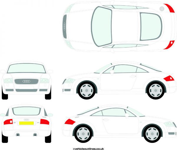 Cars Audi TT 1999-2006