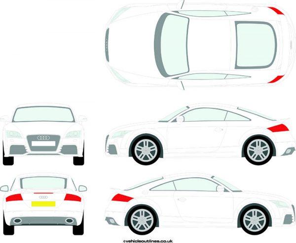Cars Audi TT 2010-14