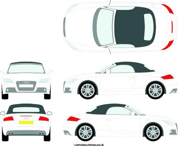 Cars Audi TTS 2008-14
