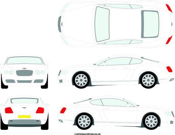 Cars Bentley Continental 2003-11