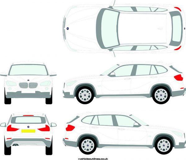 4x4 BMW X1 2012-15