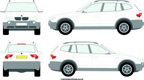 4x4 BMW X3 2004-10