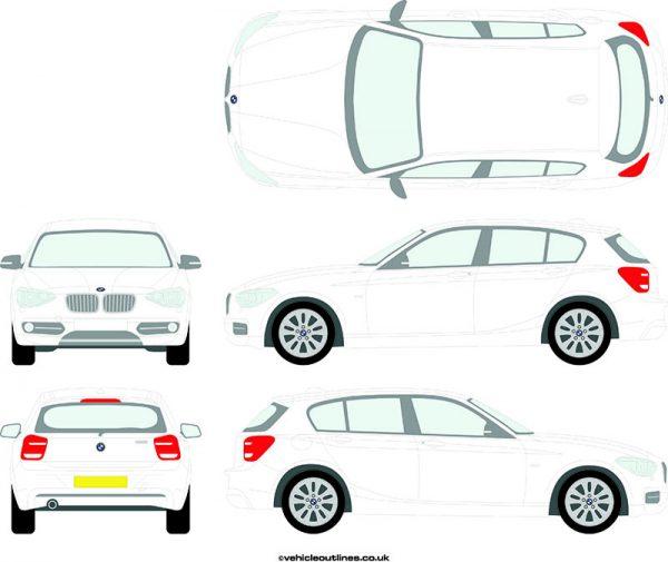Cars BMW 1 Series 2011-15