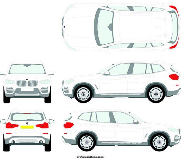 4x4 BMW X3 2018-21