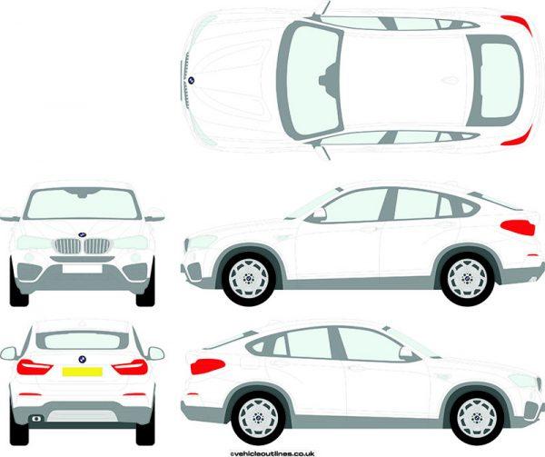 4x4 BMW X4 2014-18