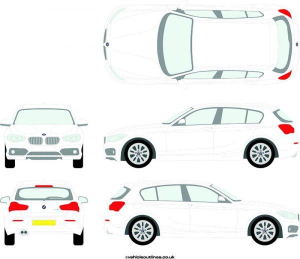 Cars BMW 1 Series 2015-20