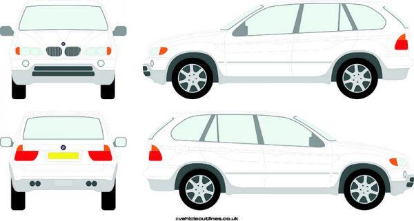 4x4 BMW X5 2000-06